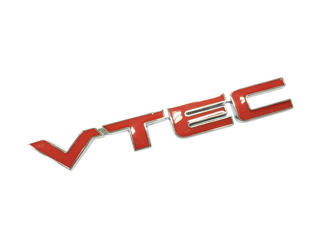 Dian Bin VTEC Red Metal Sticker Car Auto Vehicle Logo badge Emblem for Honda Available