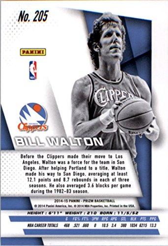 2014-15 Panini Prizm #205 Bill Walton