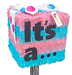 It\'s a...Gender Reveal Pull Strings Pinata