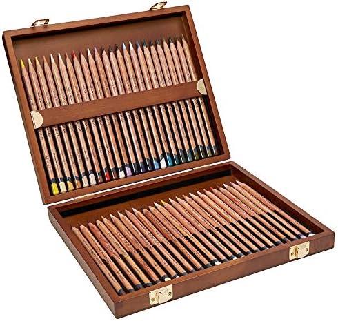 Derwent Lightfast 2302721 - Lápices de colores (caja de madera, 48 unidades): Amazon.es: Hogar