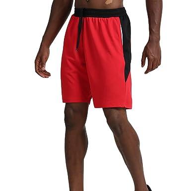 Shorts de Baloncesto para Hombres niños con Bolsillos, Pantalones ...