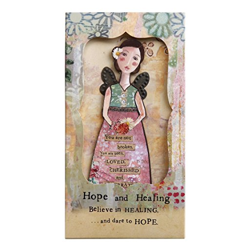 Kelly Rae Roberts Angel Ornament Card - HOPE & HEALING