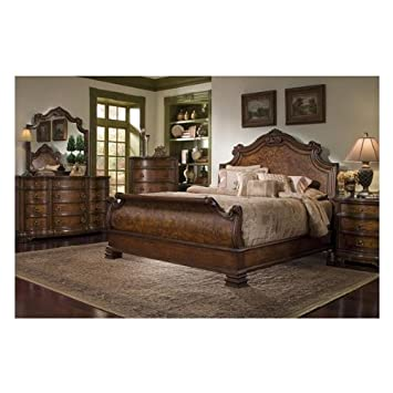 Amazoncom Torricella Collection By Fairmont Designs Queen Sleigh - Fairmont designs bedroom sets
