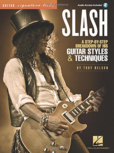 Slash - Guitar Signature Licks (Bk/Audio)