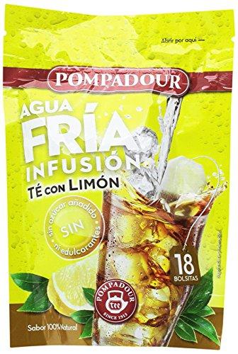 Pompadour Te Infusion Limon Frio - 18 bolsitas