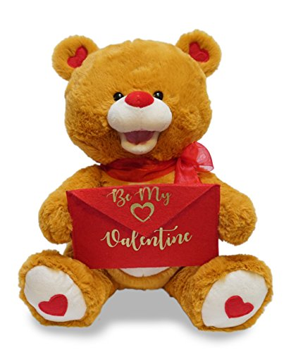 Barnes Signed (Special Delivery Ted - Animated Valentines Day Plush by Cuddle Barn)