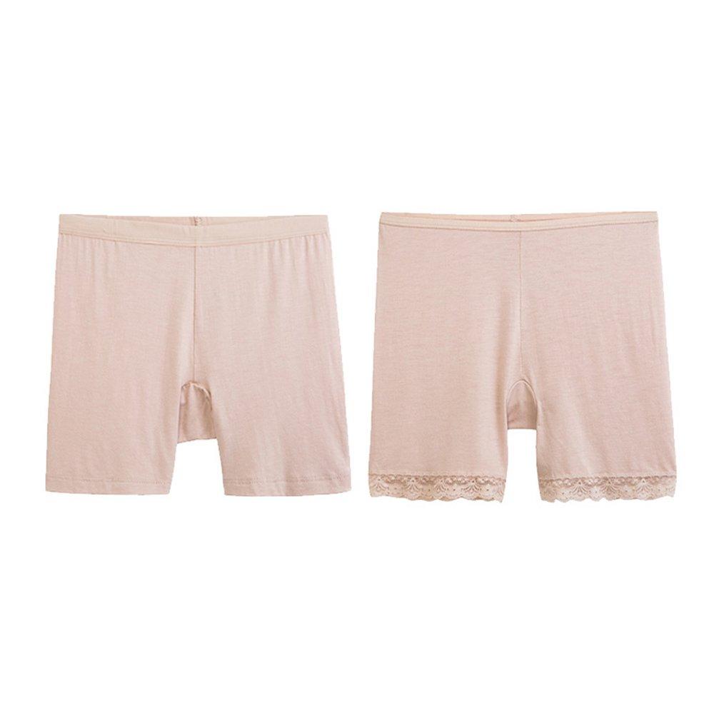 Pantalones transpirables de la seguridad de la alta cintura del cordón femenino [2 cargados] ( Color...