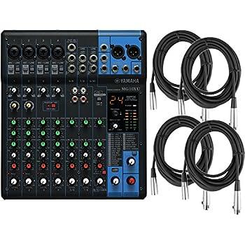 Yamaha mg102c 10 input stereo mixer musical for Yamaha mg10xu usb cable