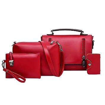 ac631fadd5d4 Women Ladies Fashion Handbags Leather Top Handle Satchel ...