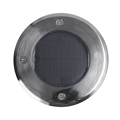 Stainless Steel Waterproof Solar Powered LED In-Ground Dr...