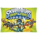 Skylander Swap Force Theme Pillowcase Zippered 20x26 Inchs Design Two Sides Printed Pillow Case Cover