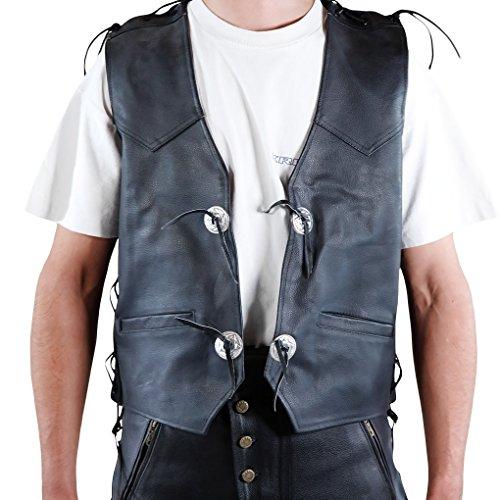 Xl Leather Vest - 6