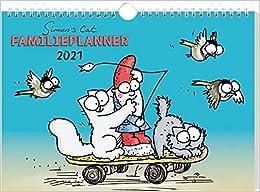 Simon's Cat - Familienplaner Kalender 2021