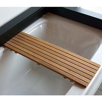 Amazon Com Teak Ada Removable Seat For Bathtubs Home
