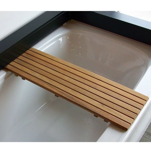 Amazon.com: Adjustable Teak Bathtub Shelf-Seat: Home & Kitchen
