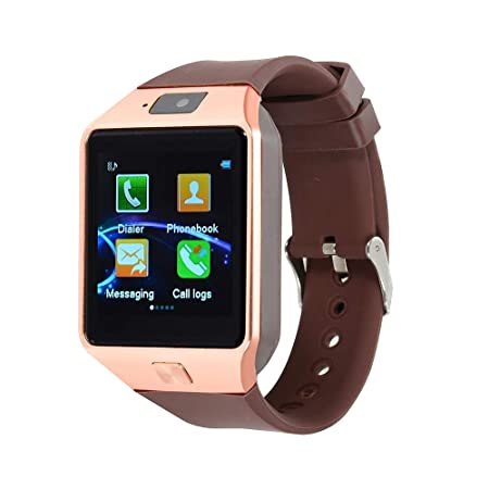 Smartwatch iOS Bluetooth Touch Screen Calories Burned Hands-Free ...