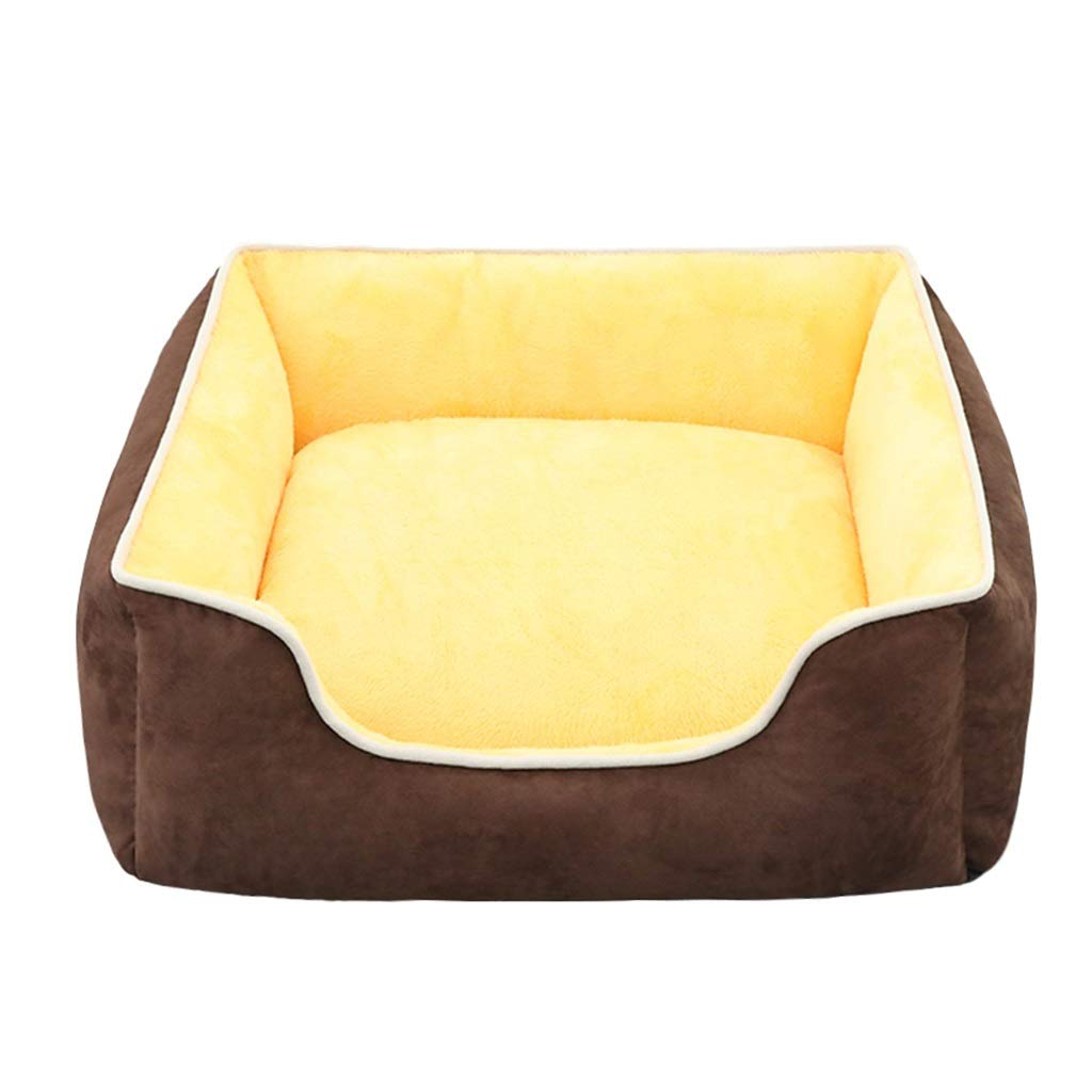 E MediumCWWYJL Pet House Pet Mattress, Fashion Kennel Indoor Warm Cat Litter 2 Models 5 Size (color   A, Size   XXL)