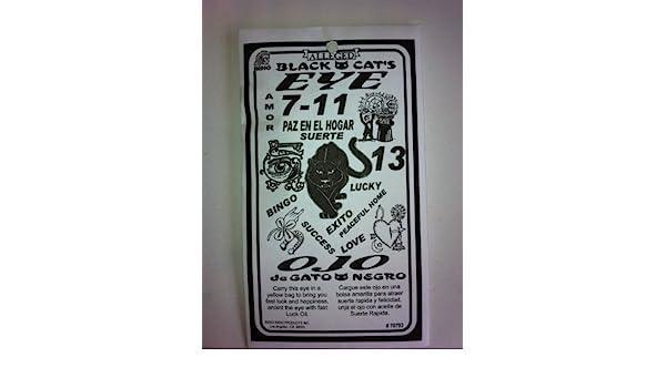 Amazon.com : Black Cats Eye 7-11 (Ojo De Gato Negro) : Asafetida Spices And Herbs : Grocery & Gourmet Food