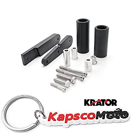 Amazon.com: Krator Kawasaki Ninja 650 / EX650 / 650R No Cut Black ...