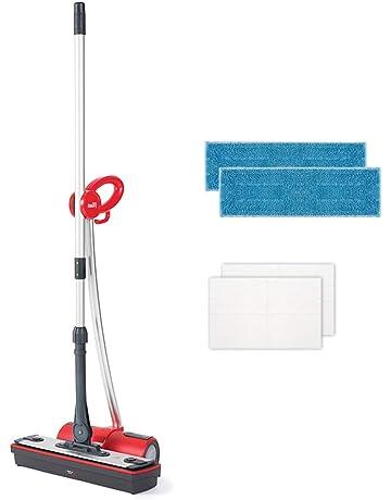 Polti Moppy Limpiador de suelos con vapor sin cables para todo tipo de suelos y superficies
