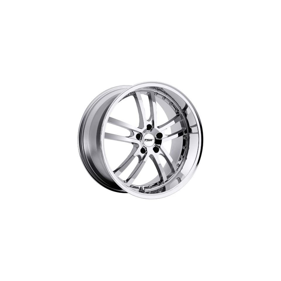 TSW Cadwell 19 Chrome Wheel / Rim 5x112 with a 45mm Offset and a 72 Hub Bore. Partnumber 1980CAD455112C72