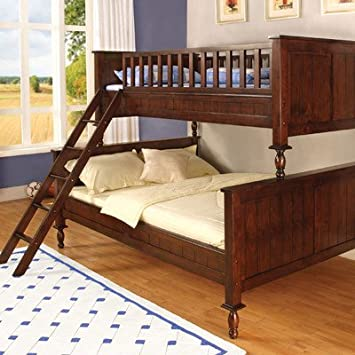 hokku designs milton twin over full bunk bed