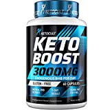 Keto Diet Pills - 5X Potent - Fat Burner 3000mg - Made in USA - Weight Loss Keto Burn - Exogenous Keto BHB Supplement for Women and Men - Keto Supplement & Metabolism Support - BHB Keto Burn