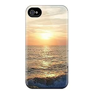 Slim Fit Tpu Protector Shock Absorbent Bumper Colores Noctu Case For Iphone 4/4s