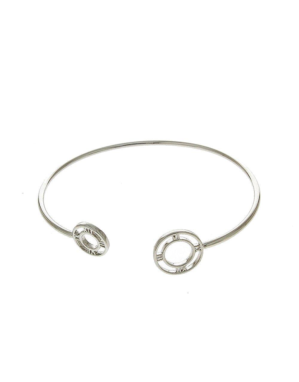 Evereena Silver Beads Bracelet for Girls Hope Charm Luxury Womens Jewelry