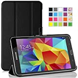 MoKo Samsung Galaxy Tab 4 7.0 Case - Ultra Slim Lightweight Smart-shell Stand Case for Samsung Galaxy Tab 4 7.0 inch, BLACK (WILL NOT Fit Samsung Galaxy Tab 3 7.0)