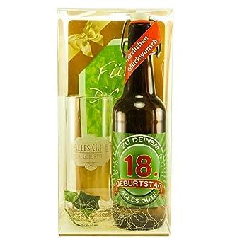 Bier Geschenk Zum 18 Geburtstag Geburtstagsgeschenk Achtzehnter