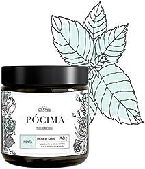 Pócima - Crema tipo manteca de Karité. Contiene Aceite Esencial de Menta y Aloe Vera certificado Orgánico. 240 g…