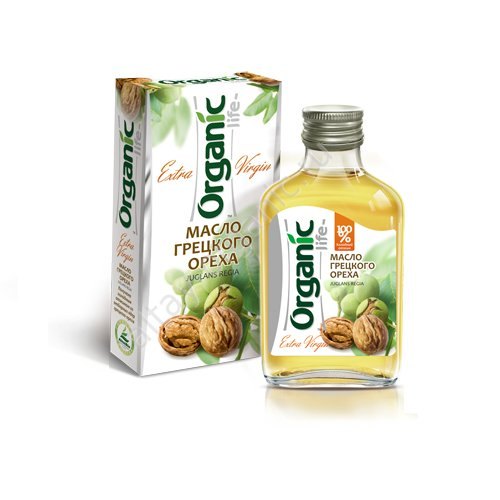 Organic Walnut Oil Cold Pressed Unrefined Extra Virgin Raw No GMO 100ml