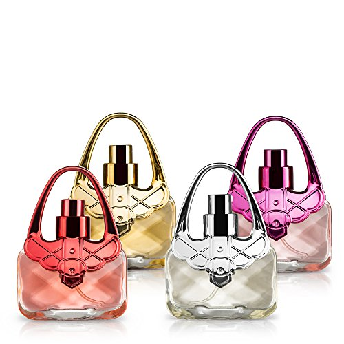 Eau De Fragrance Perfume Sets for Girls- Perfect Body Mist Gift Set for Teens and Kids - Purses - 4 Pack by Scented Things (Image #7)