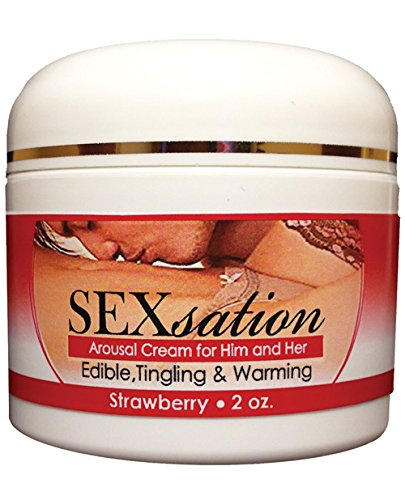 Sexsation Arousal Cream Strawberry 2oz by Sexsation