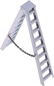 1/10 Accesorio de Escalera de Aluminio Simulado para RC Coche Axial SCX10 Crawler: Amazon.es: Bricolaje y herramientas