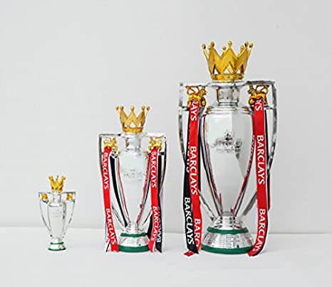 Fa Premiership Trophy 2017 English Premier League Trophy Replica Cup Barclay Trophies Awards 15cm Amazon In Sports Fitness Outdoors