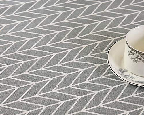(LIAOYLY Geometric Table Cloth Tablecloth Nappe Cover Party Wedding Home Decoration Mantel Textile,Color C,100140cm,)
