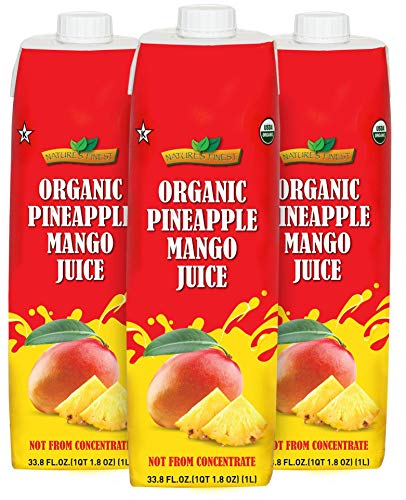Organic Pineapple Mango Juice (3 Pack) ()