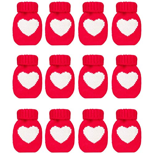 allydrew Mini Heart Hottie Knitted Hand Warmer w/Re-usable Hot, Set of 12