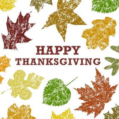 Happy Thanksgiving Card (1679) Davora