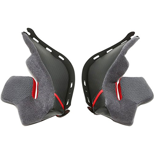 Shoei RF-1200 Cheek Pad Set 31mm Motorcycle Helmet Accessories - - Pads Helmet Cheek
