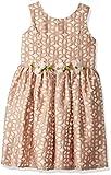 Jayne Copeland Little Girls' Burnout Floral with Flowers-Dress, Blush, 7