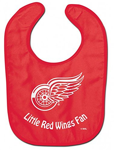 WinCraft NHL Detroit Red Wings WCRA2063814 All Pro Baby Bib