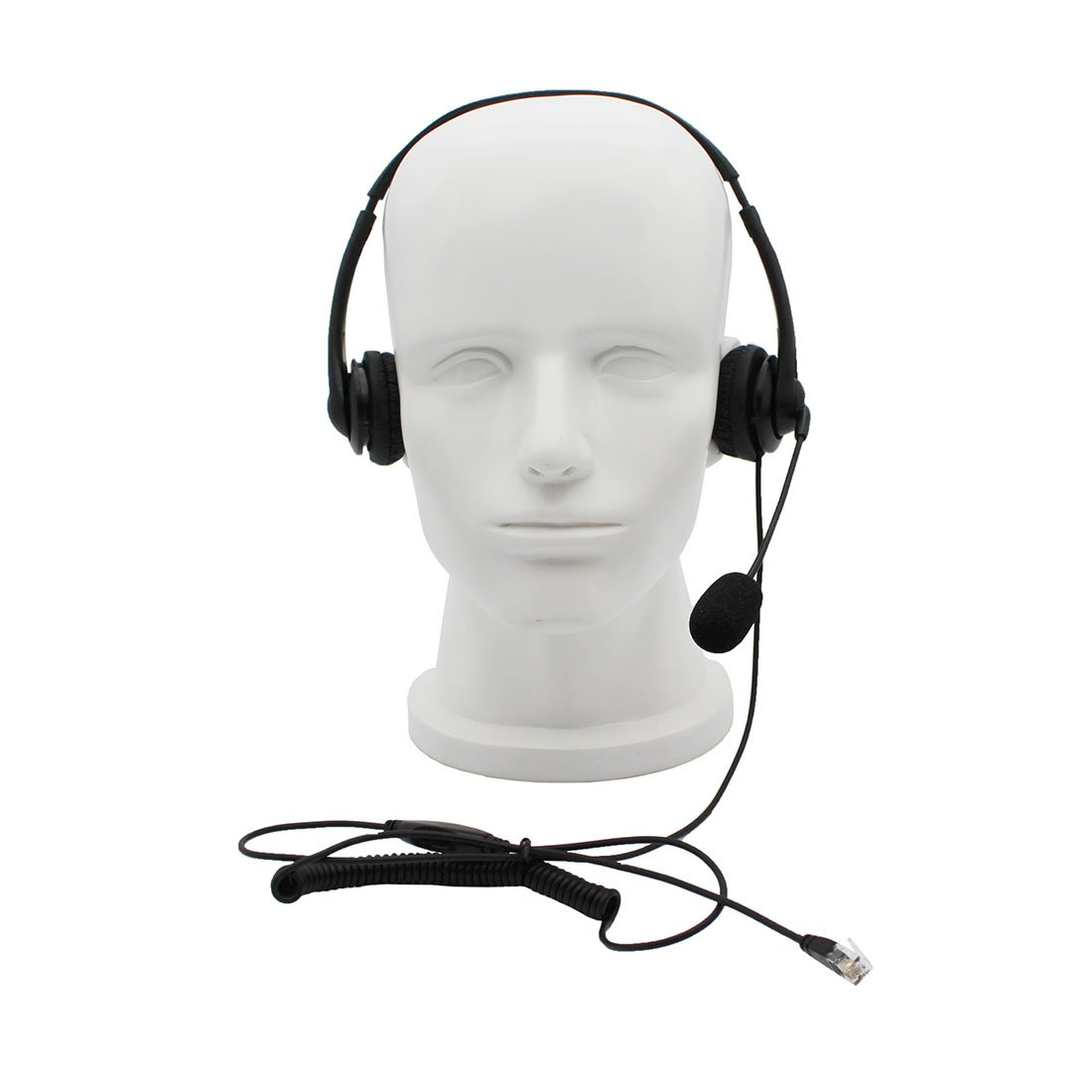 GoodQbuy Call Center Telephone /IP Phone Headset RJ9 Headphone with Mic for  Cisco IP Phones 7940 7941 7942 7945 7960 7961 7962 7931G 7962G 7965G and