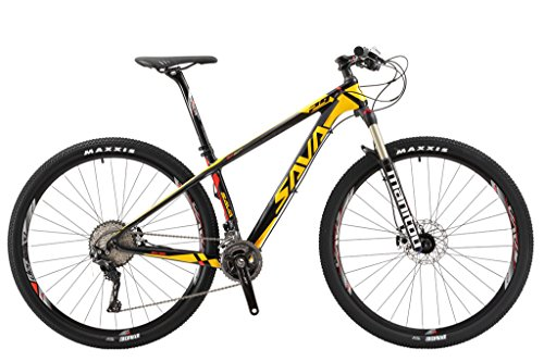 5. SAVADECK 700 Carbon Fiber Mountain Bike