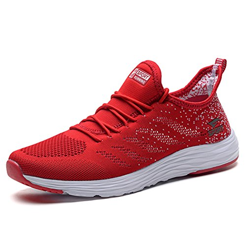Ginnastica Sportivo Uomo Donnas Scarpe Rosso Scarpe da TORISKY Calzature Sneakers FwSIxqYqdn