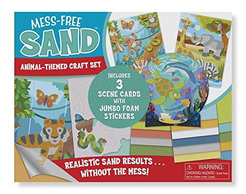 Melissa & Doug Mess-Free Sand - Animal Themed Craft Set for $<!--$12.99-->