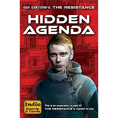 Indie Boards and Cards Resistance Hidden Agenda Card Game: Toys & Games