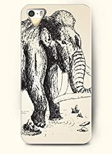 OOFIT Phone Case design with Elephant Fording a River for Apple iPhone 5 5s 5g